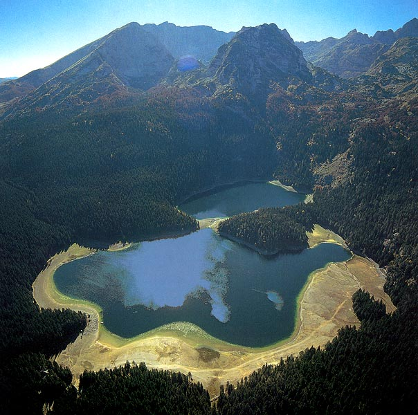 durmitor lac noir parc national montenegro