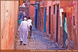 marrakech ruelles medina