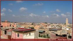 marrakech vue de la vieille ville