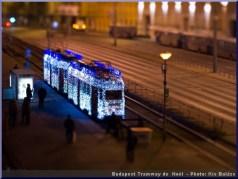 noel budapest tramway