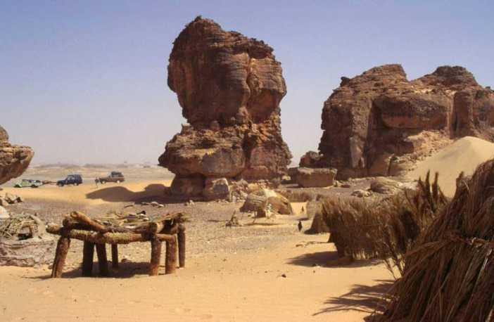 tchad village Isky