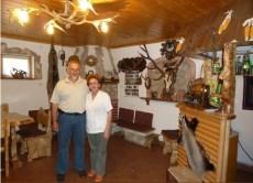 Branko et Sonja à Mrzlingrad dans l'agrotourisme de Vrelo près de Korenica