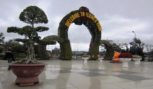 dalat parc des fleurs