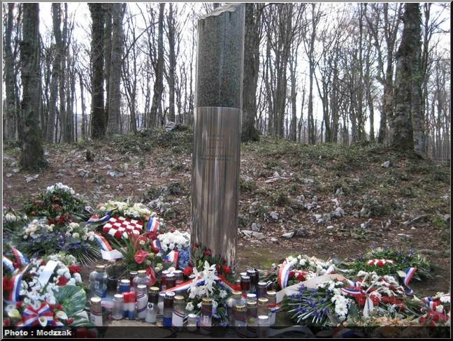 incidents des paques sanglantes de plitvice memorial à la première victime de la guerre entre Croatie et Serbie