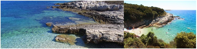 Cap Kamenjak plage Premantura