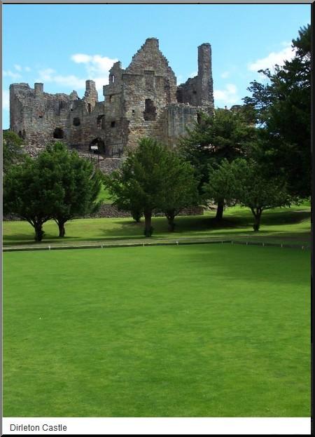 chateau dirleton castle ecosse