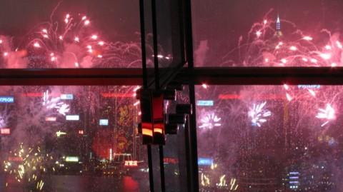 hong kong NOUVEL AN feux artifice