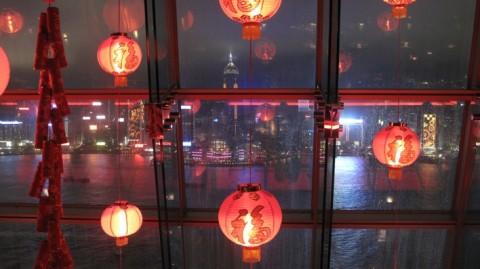 hong kong feux artifices