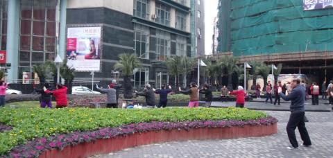 taichi matinal shanghai