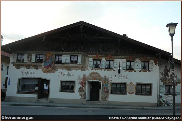 oberammergau maison peinte fresques