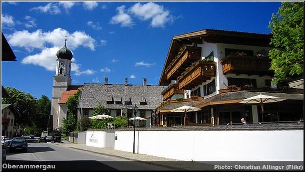 Oberammergau, un beau village typique aux façades peintes en Bavière 1