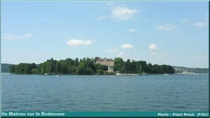lac Bodensee ile mainau