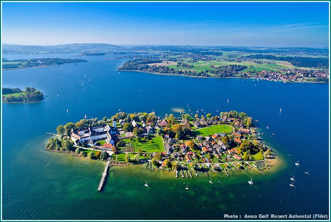 fraueninsel chiemsee panorama