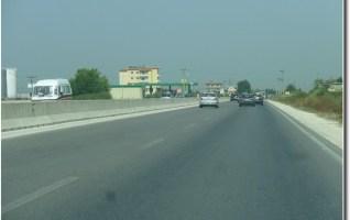 Autoroute entre Lushnja et Rrogozhina