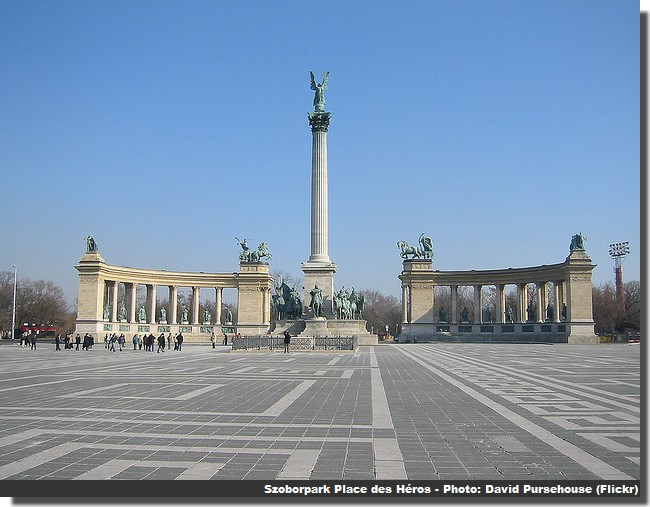 Budapest Szoborpark place des heros