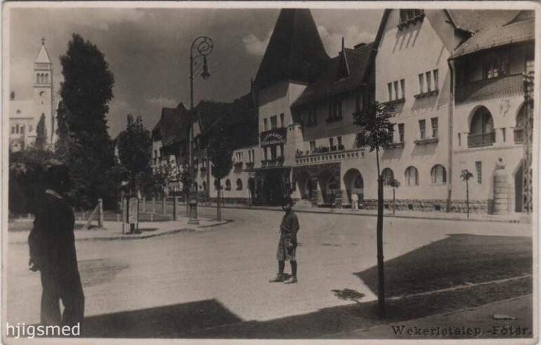 Budapest Werkeletep 1921-1951
