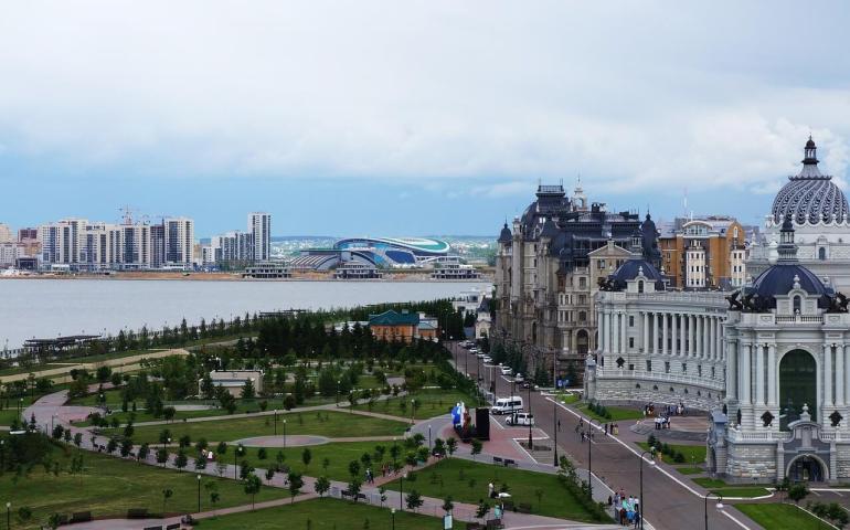Kazan capitale du Tatarstan