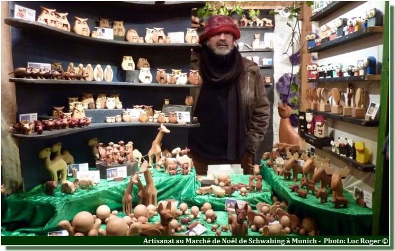 Munich Schwabinger Weihnachtsmarkt artisanat