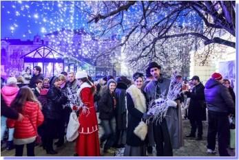 Ambiance de Noël à Zagreb en Croatie ©