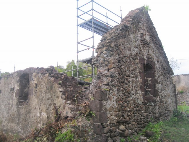 Ruines de Crève Coeur Martinique