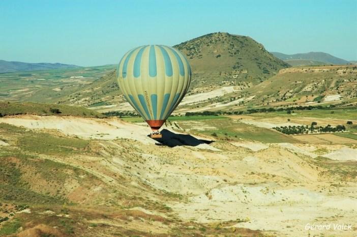 Survol de la Cappadoce en montgolfière