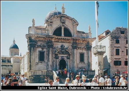dubrovnik eglise saint blaise
