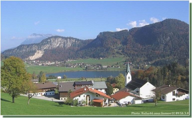 lac Thiersee en Autriche
