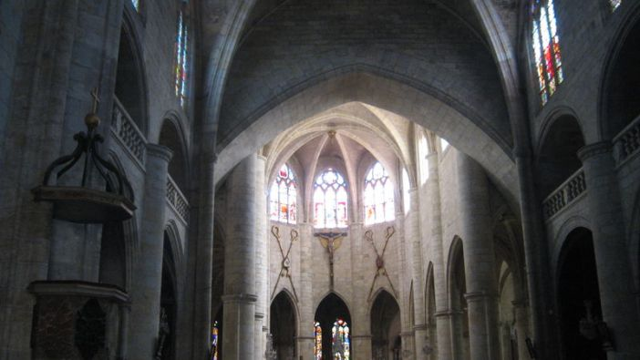 pilliers cathedrale saint gervais lectoure