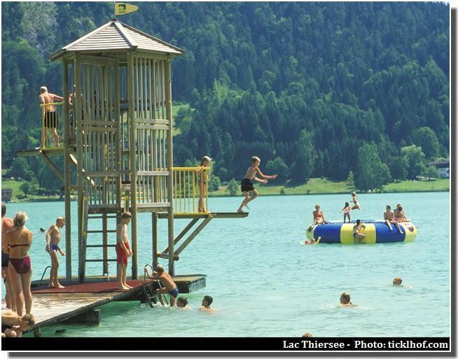 plongeoir lac thiersee