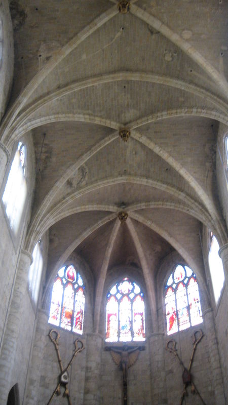 voutes cathedrale saint gervais lectoure