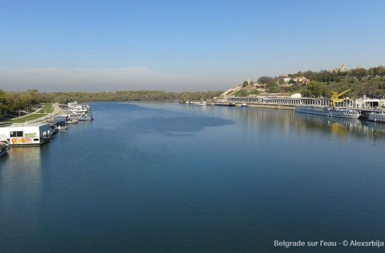 Belgrade sur l'eau