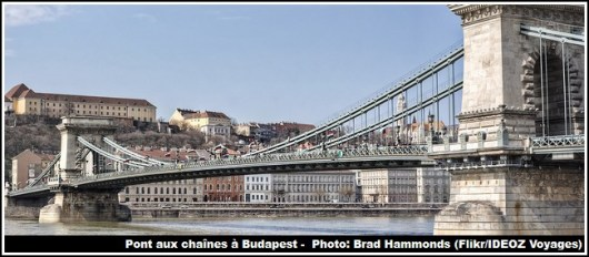 Budapest Pont aux chaines