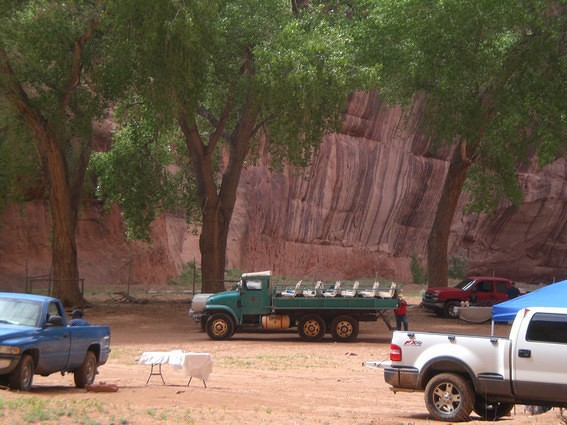 Canyon de Chelly National Monument Shuttle