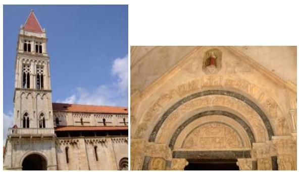 Cathédrale saint Laurent à Trogir