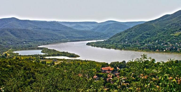Danubie région de Budapest
