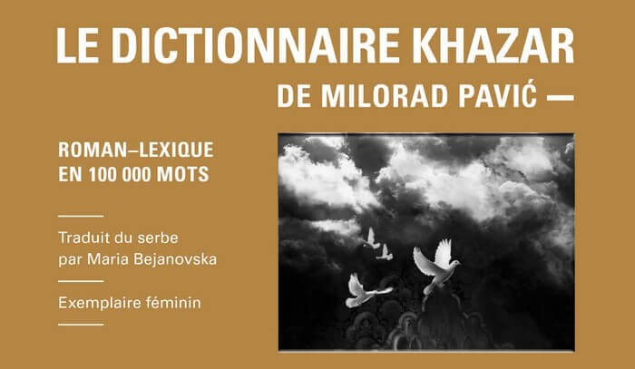 Dictionnaire des Khazars milorad pavic