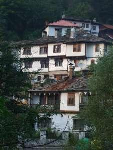 Guela architecture typique de Bulgarie centrale