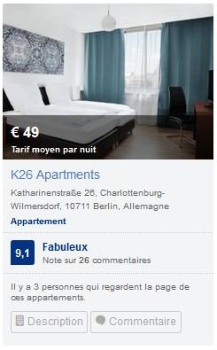 K26 Appartment Berlin Charlottenburg
