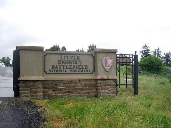 Little Bighorn River battlefield