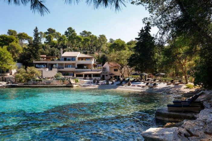 Littlegreenbay hotel Hvar