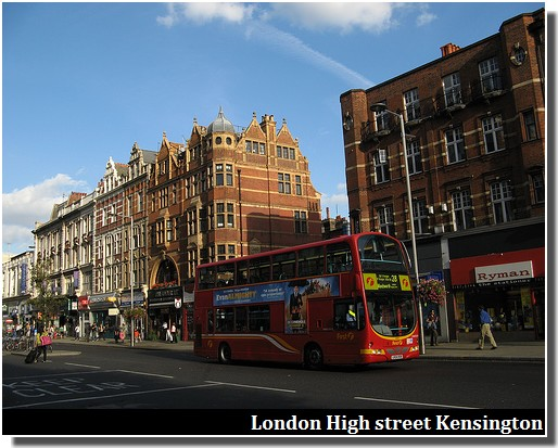 London High Street Kensington