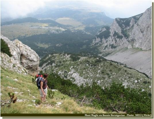 Mont Maglic randonnee en Bosnie