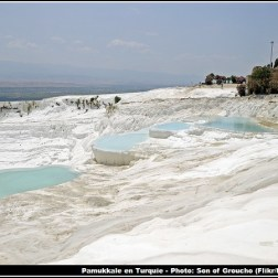 Pamukkale formations geologiques