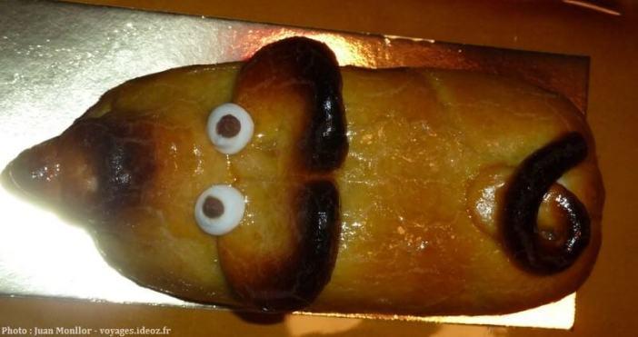 Petit cochon en massepain cochinito de masapan