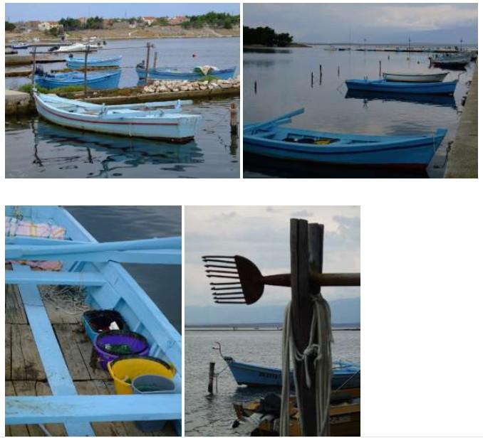 Quai de Nin et barques de pêcheurs