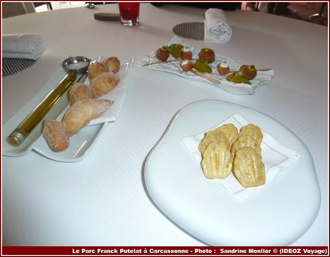 Restaurant Le Parc de Franck Putelat mises en bouche
