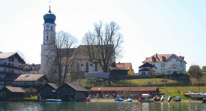 Seehaupt am Starnberger see en Haute Bavière