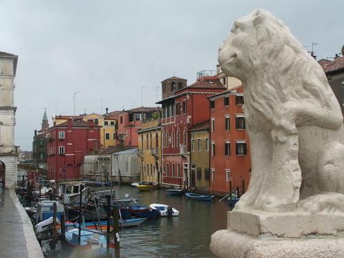 Venise Chioggia Ponte Vigo