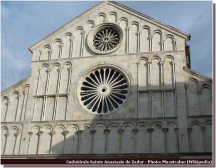 Zadar Cathédrale Sainte Anastasie