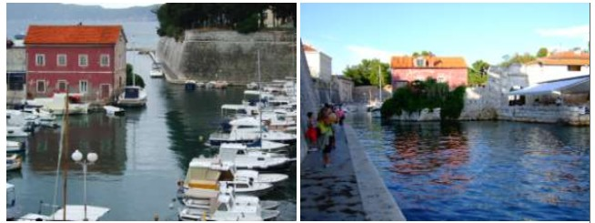 Zadar port de Fosa